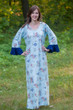 """Frill lovers"" kaftan in Romantic Florals pattern"