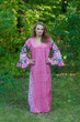 """Frill lovers"" kaftan in Round and Round pattern"