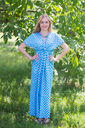 """Beach Days"" kaftan in Polka Dots pattern"