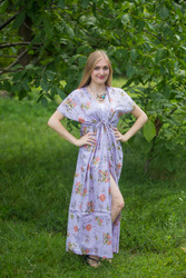 """Beach Days"" kaftan in Romantic Florals pattern"