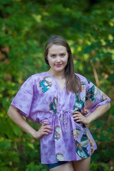 """Timeless"" kaftan Top in Butterfly Baby pattern"
