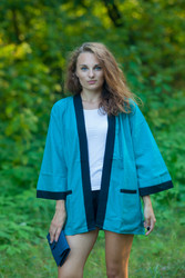 """Street Style"" Kimono jacket in Plain and Simple pattern"