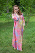 """Simply Elegant"" kaftan in Batik Watercolor pattern"