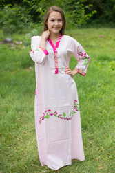 """Simply Elegant"" kaftan in Climbing Vines pattern"