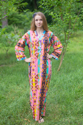 """Simply Elegant"" kaftan in Diamond Aztec pattern"