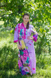 """Simply Elegant"" kaftan in Jungle of Flowers pattern"