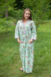 """Simply Elegant"" kaftan in Romantic Florals pattern"