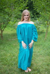 """Serene Strapless"" kaftan in Floral Plain and Simple pattern"