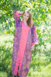 """The Glow Within"" kaftan in Abstract Floral pattern"