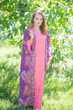 """""""The Glow Within"""" kaftan in Abstract Floral pattern"""