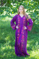 """The Glow Within"" kaftan in Big Butterfly pattern"
