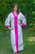 """The Glow Within"" kaftan in Climbing Vines pattern"