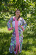 """The Glow Within"" kaftan in Floral Watercolor Painting pattern"