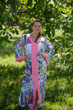 """""""The Glow Within"""" kaftan in Floral Watercolor Painting pattern"""