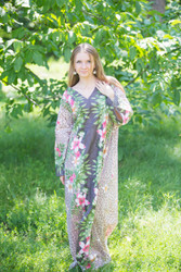 """The Glow Within"" kaftan in Fun Leopard pattern"