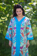 """The Glow Within"" kaftan in Ikat Aztec pattern"