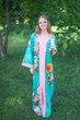 """The Glow Within"" kaftan in Large Floral Blossom pattern"