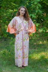 """Ballerina"" kaftan in Flower Rain pattern"