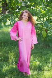 """The Glow Within"" kaftan in Ombre TieDye pattern"