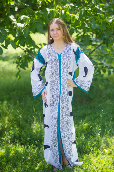"""The Glow Within"" kaftan in Perfectly Paisley pattern"
