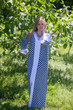 """The Glow Within"" kaftan in Polka Dots pattern"