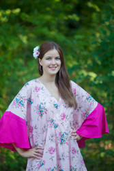 """Ballerina"" kaftan in Romantic Florals pattern"
