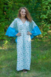 """Ballerina"" kaftan in Tiny Blossoms pattern"