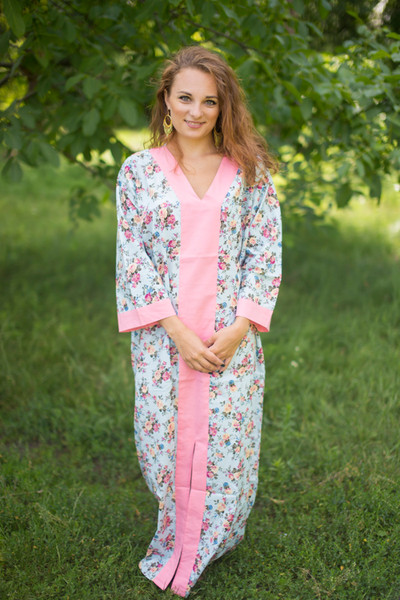 """The Glow Within"" kaftan in Vintage Chic Floral pattern"