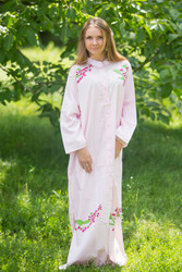 """Charming Collars"" kaftan in Climbing Vines pattern"
