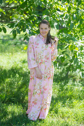 """Charming Collars"" kaftan in Flower Rain pattern"
