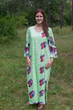 """The Unwind"" kaftan in Butterfly Baby pattern"
