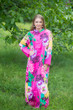 """Charming Collars"" kaftan in Jungle of Flowers pattern"