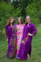 """Mandarin On My Mind"" kaftan in Big Butterfly pattern"