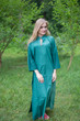 """Mandarin On My Mind"" kaftan in Ombre TieDye pattern"
