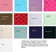 Minky Dot Fabric By The Yard