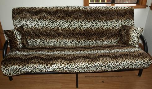 Leopard Print Futon Cover