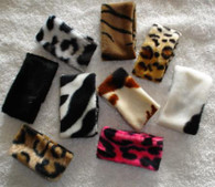 Animal Print Napkin Rings safari style