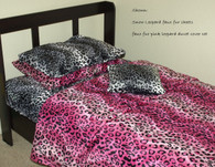 Faux Fur Animal Print bottom Sheet : available in various prints such as zebra, leopard, cow, tiger, giraffe, etc.