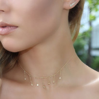 Diamond Cascade Choker