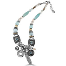 Elements Blue Necklace (N1118)