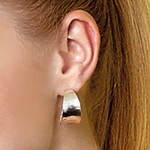 Mirror To The Soul Hoop Earrings (E3110)