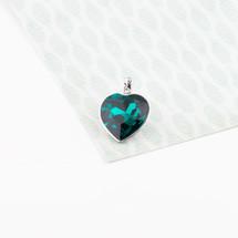 Emerald Isle Heart Pendant