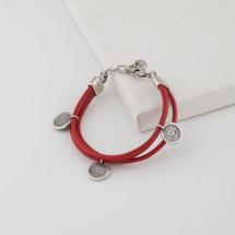 Havana Leather Bracelet (B1396)