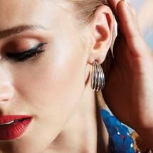 Cha Cha Hoop Earrings (E3157)