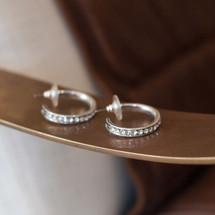 Infinity Hoop Earrings (E2655)