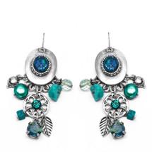 Blue Charm Earrings (E2224)