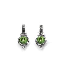 Peridot Drop Earrings (E2416)