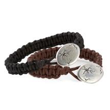 Black Woven Cord Bracelet (MHB41)