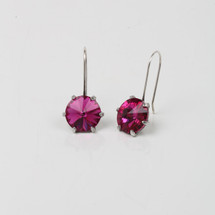 Fuschia Little Gems Earring (E3211)