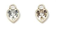 Sweetheart Charm Earrings (E1055)